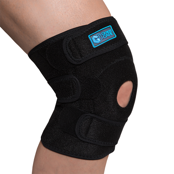 Adjustable knee brace support with patella support GC-KB221 1