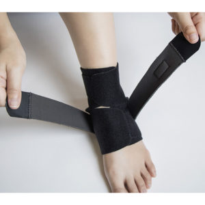 Ankle Brace Support with Adjustable Wrap GC-AB221 3