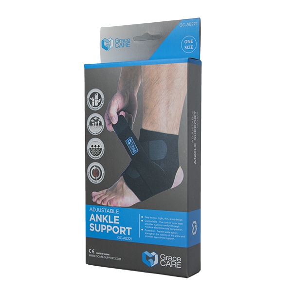 Ankle Brace Support with Adjustable Wrap GC-AB221 4