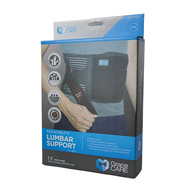 Lumbar Support Back Brace with Effortless Design GC-LB221 4