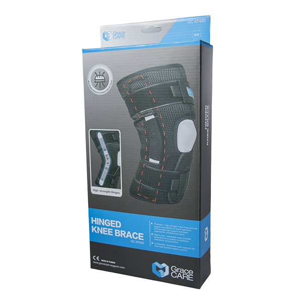 Hinged Knee Brace for Joint Support GC-KP420 4