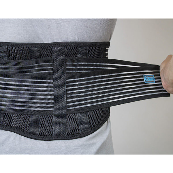 Lower Back Brace with Dual Support Straps GC-LB222 3